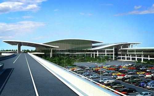 Phối cảnh nhà ga T2 Nội Bài