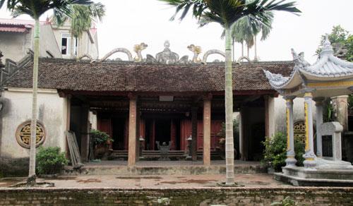 Nhà thờ Tổ họ Ngô Vọng Nguyệt. Nguồn: baobacninh