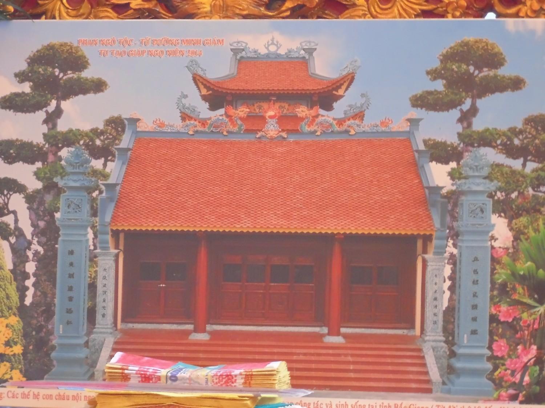 Họ Phan Ngô – Minh Giám khánh thành từ đường
