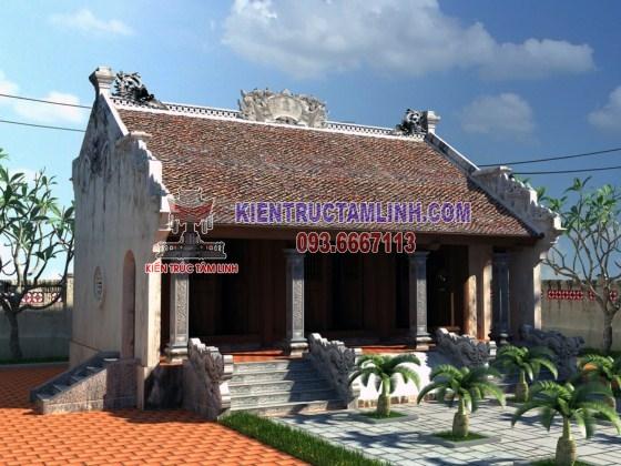 Mẫu thiết kế Nhà thờ họ điển hình