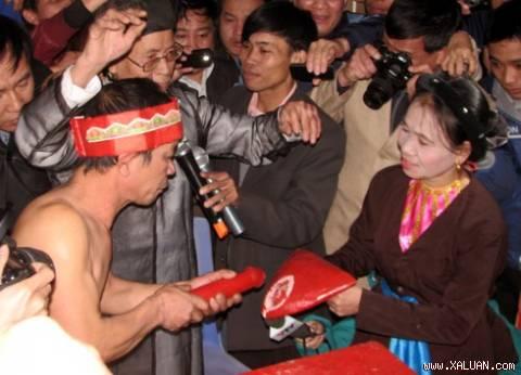 Lễ hội Trò Trám (Phú Thọ) Nguồn: Internet