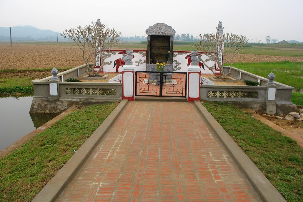 Lăng Hán Quốc công Ngô Lan tại khu di tích Đồng Phang (Thanh Hóa)