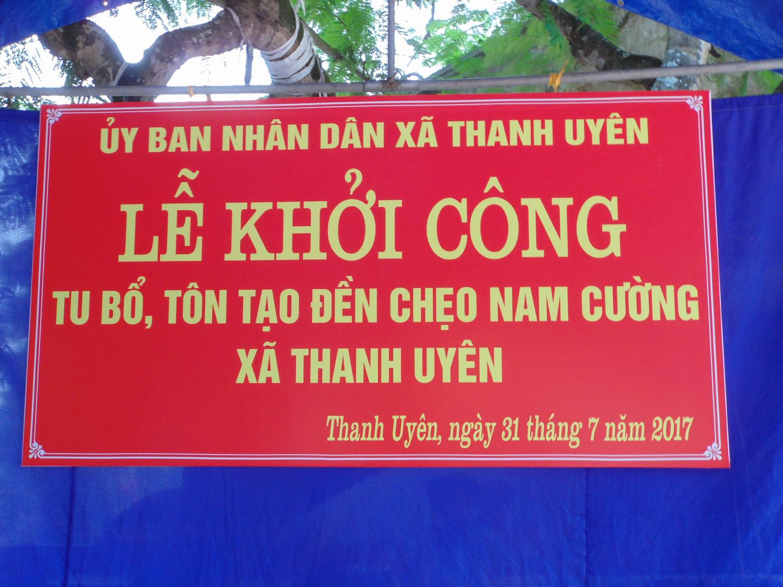 KHởi công tu bổ, tôn tạo đền Chẹo Nam Cường, Phú Thọ