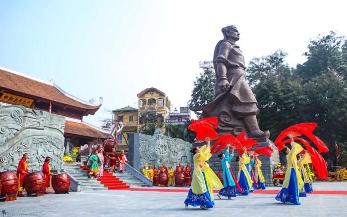 Hội gò Đống Đa là lễ hội đầu tiên mở màn của năm mới mỗi dịp Tết đến Xuân về: Ảnh minh họa: UBND Quận Đống Đa.