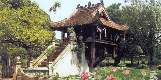 Chùa Một cột quận Ba Đình - Hà Nội